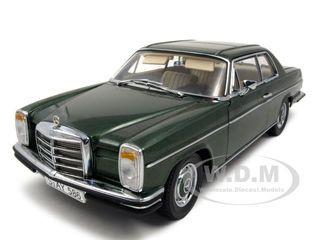 mercedes strich 8 280c coupe moss green diecast model car 1 18 platinum edition by sunstar. Black Bedroom Furniture Sets. Home Design Ideas