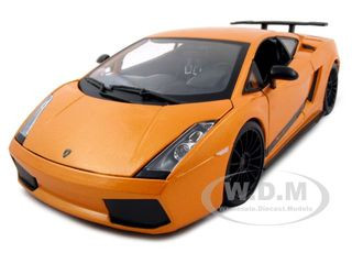 2007 Lamborghini Gallardo Superleggera Orange 1 18 Diecast Model Car