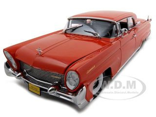 1958 Lincoln Continental Mark Iii Red Platinum Edition 1 18 Diecast