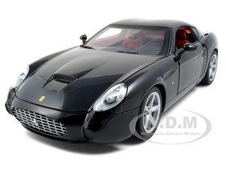 Ferrari 575 GTZ Zagato Black 1/18 Diecast Model Car Hotwheels P9888