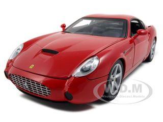 Ferrari 575 GTZ Zagato Red 1/18 Diecast Model Car Hotwheels P9887