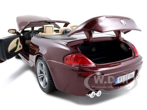 DESCRIPTIONS: Brand New 1:18 Scale Diecast Car Model Of BMW M6 ...