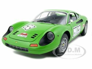 Ferrari Dino 246 GT #83 1000km of 1971 Nurburgring Elite Edition 1/18 Diecast Car Model Hotwheels T6260