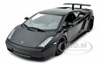 2007 Lamborghini Gallardo Superleggera Black 1/18 Diecast Model Car Maisto  31149
