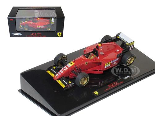 Ferrari 412 T2 #27 J.Alesi Europe GP 1995 Elite Edition 1/43 Diecast Model Car Hotwheels T6286