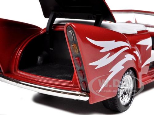 greased lightning red 1 18 diecast model car by autoworld amm955 ebay. Black Bedroom Furniture Sets. Home Design Ideas