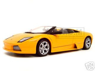 Lamborghini Murcielago Roadster Orange 1 18 Diecast Model Car