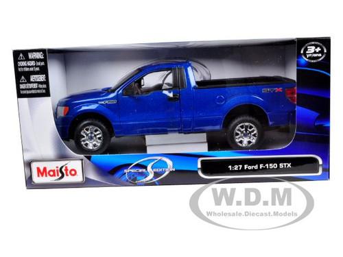 MAISTO 1:27 FORD F-150 STX DIE-CAST BLUE 31270