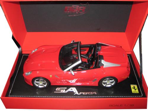 Ferrari 599 Roadster SA Aperta Racing Red #322 Limited to 310pc 1/18 Model Car BBR 1815 DIS