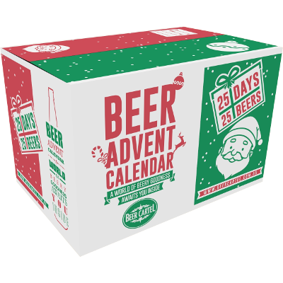 Beer Cartel Beer Advent Calendar Side View