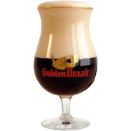 Gulden Draak Beer Glass