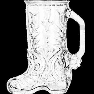 Libbey Beer Boot Glass Mug