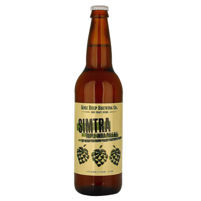 Knee Deep Simtra Triple IPA