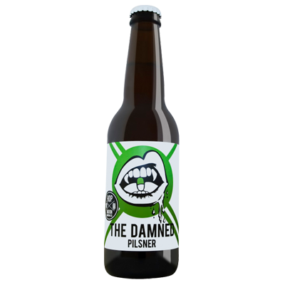 Hop Nation The Damned Pilsner