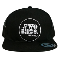 Two Birds Black Trucker Cap