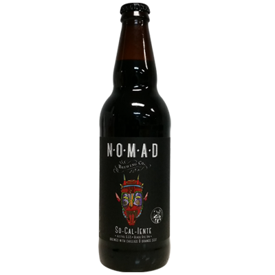Nomad/Stone So-Cal-Iente Black Rye IPA