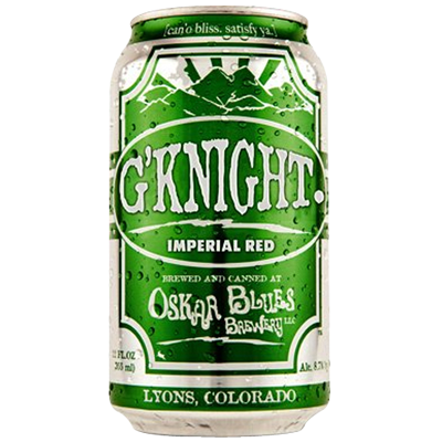 Oskar Blues G'Knight Imperial Red