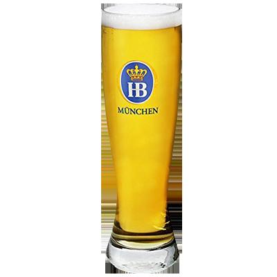 Hofbrau Munchen Wheat Beer Glass 300ml
