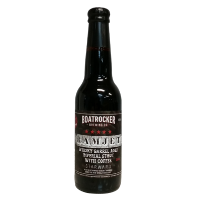 Boatrocker Coffee Ramjet Whisky Barrel Aged Imperial Stout