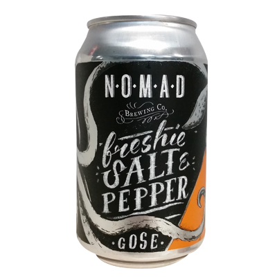 Nomad Freshie Salt And Pepper Gose - Can