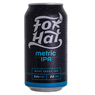 Fox Hat Metric IPA