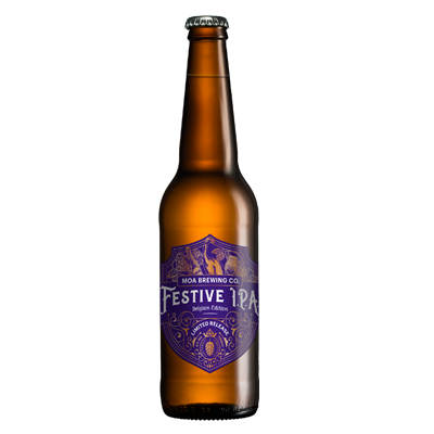 Moa Festive IPA - Belgian Edition