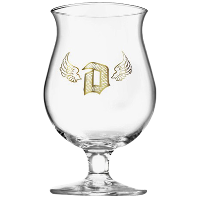 Duvel Angel Beer Glass