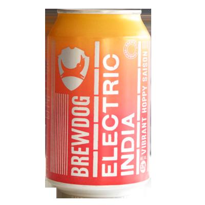 BrewDog Electric India Hoppy Saison