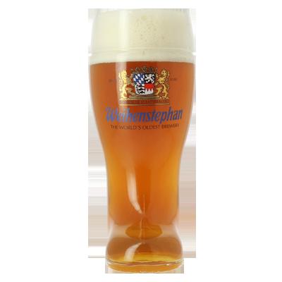 Weihenstephaner German Beer Boot Glass 1 Litre