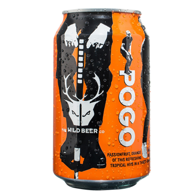 Wild Beer Pogo Passionfruit Orange Guava Pale