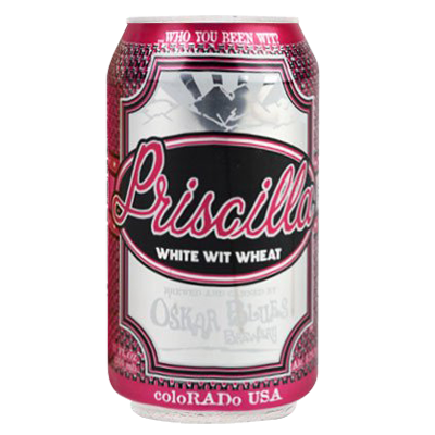 Oskar Blues Priscilla White Wit Wheat
