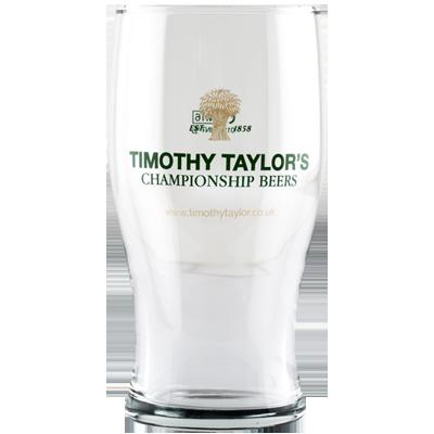 Timothy Taylor Pint Glass