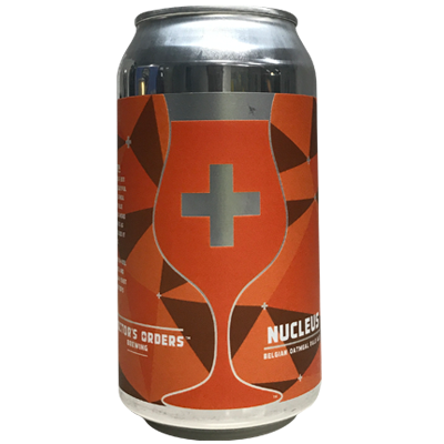 Doctor's Orders Nucleus Belgian Oatmeal Pale Ale