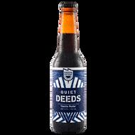 Quiet Deeds Vanilla Porter 330ml Bottle