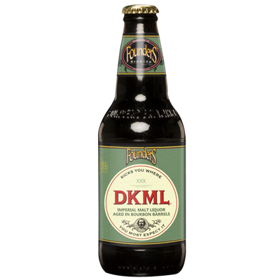 Founders DKML Imperial Malt Liquor Bourbon BA