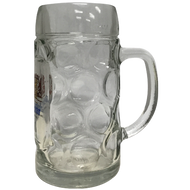 Weihenstephaner Dimple Stein Beer Glass (500ml)
