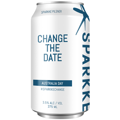 Sparkke Change the Date Pilsner