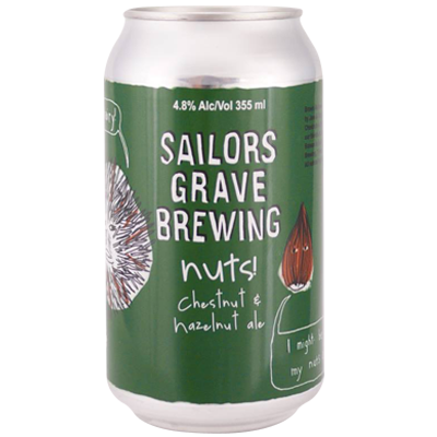 Sailors Grave Nuts! Chestnut & Hazelnut Ale