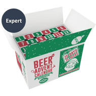 Expert Beer Advent Calendar Top Open Box