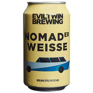 Evil Twin Nomader Weisse (4 Pack Limit)