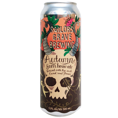 Sailors Grave Autumn Farmhouse Ale