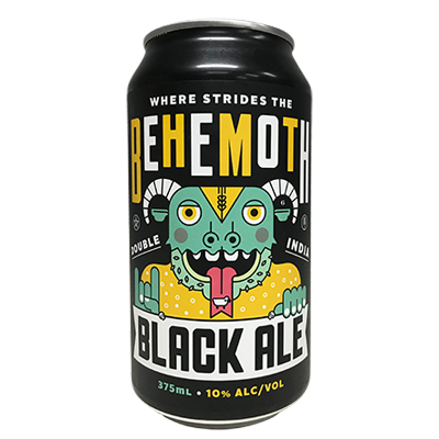 KAIJU! Where Strides The Behemoth Black IPA 375ml Can