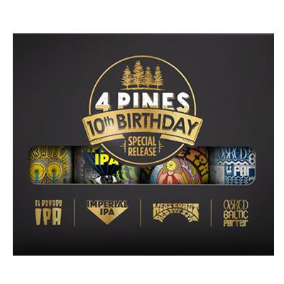 4 Pines 10th Birthday Pack