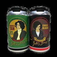 Yulli's Charles Tan Hefeweizen & Chuck Black Bunya Nut PorterBlack & Tan (Twin Pack)
