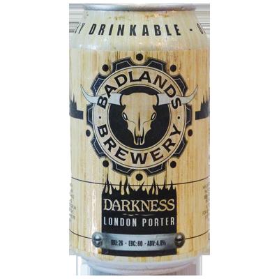 Badlands Dark London Porter 355ml Can