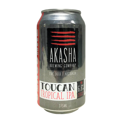 Akasha Toucan Tropical IPA