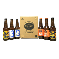 Father's Day 6 Pack with Beer Wraps