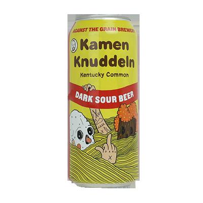 Against The Grain Kamen Knuddeln Dark Sour Beer