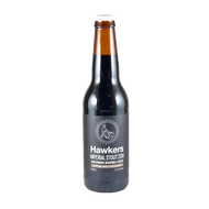 Hawkers Bourbon Barrel Aged Imperial Stout with Coffee & Cardamom 2018