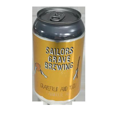 Sailors Grave Yuzu & Grapefruit Sour Ale